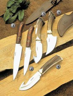 Cuchillos Muela, Criollo, Viper y Sabueso, cuchillos de caza