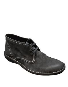 John Varvatos Hipster Suede Chukka Boots Men's Oxide 9