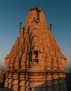 Sunset temple, Udaipur.