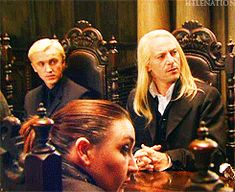 Harry Potter gifs on the set