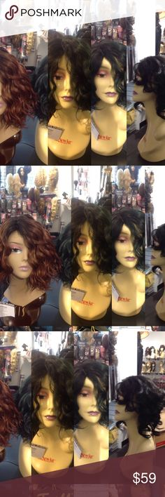 Ombre curls super sexy heat resistant adjustable #Wigs this listing is for ONE of these curly hair wigs comes in all colors I also have this in every color and in Swisslace and regular this wig has quickly become the most Sought after wig on sale now no worries it's been shipped all over the USA the chances of you running Into another buyer are rare I never order the same wig twice but thus wig is a HOT seller pick your color if u want it in lace let me know the cost is more this listing is…