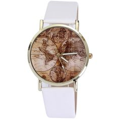 Explorer's World Map Watch