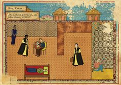 Reviving the art of Turkish miniatures. Pictured: Pulp Fiction.
