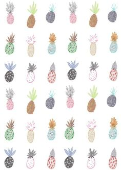 pineapples!!! Love this. Makes me feel happy just looking at it. Like the quirky, informal nature of this picture