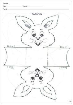Atividades de Páscoa para Imprimir – Idéias, Lembrancinhas, Moldes e Desenhos - SÓ ESCOLA