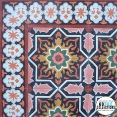 Encaustic Cement Tile - Melilla