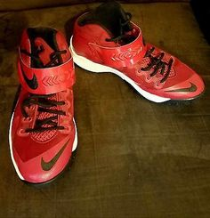 Top Quality Nike Zoom LeBron Soldier 8 SUPER DONUTS Yellow Hyper
