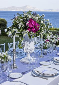 Unique vases and silver candle holders will add that eclectic feel to your wedding