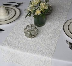 Decoración Mesa- Detalle Floral