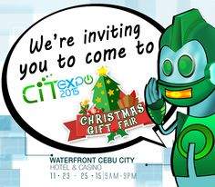 Not only an event for techies, the CiTEXPO 2015 also showcases the Christmas Gift Fair, an ideal time for Christmas shopping. Read for more details.
