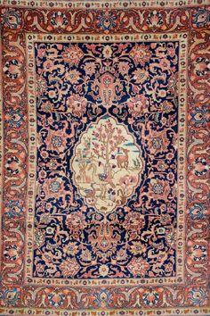 Tabriz-Khoy,, Tabriz-Khoy, Persia, circa 1930, wool/cotton, approx. 198 x 145 cm