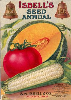 This Isbell's Seed Annual reminds me of Jane Isabel