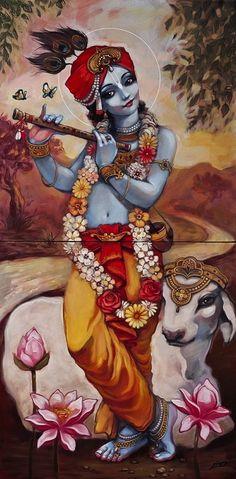Art on the Wall with Kardami - Krishna West