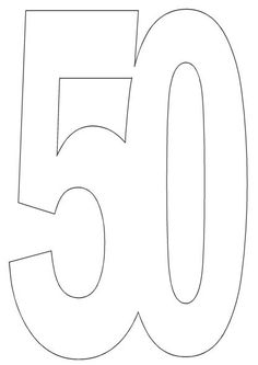 Free Printables from Imag-e-nation Age nos 50th Birthday Decorations, 50th Birthday Cards, Birthday Numbers, 21st Birthday, Birthday Ideas, Free Printable Numbers, Printable Crafts, Templates Printable Free, Card Making Ideas Free Printables