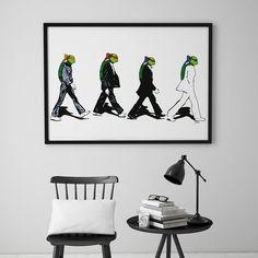 Is it The Beatles?No, it is The Turtles. The Turtlesav DØLT. Det er ikke så DØLT som det høres ut som! Gallerome har et godt utvalg avbilder, kunstplakater,