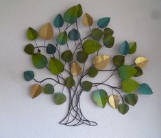 Metalen wanddecoratie boom Embry - Muurdecoratie Bomen - WANDDECORATIE METAAL | DEKOGIFTS