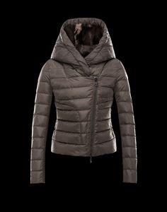 Moncler Langle - Jacket Women - Outerwear Women on Moncler Online Store