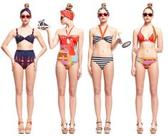 Gorman brand swimsuits. These are so fab!