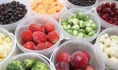 20 продуктов, которые можно заморозить. Не только овощи и фрукты, но и самые неожиданные...  в том числе готовые!
