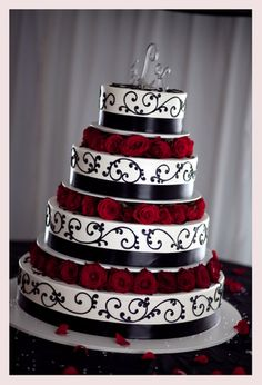 red white and black wedding themes - Google Search