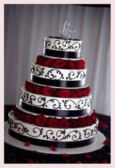 Diary of an Indecisvie Bride: The Colors :  wedding color schemes san francisco Black R black-r