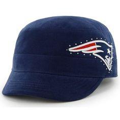 Ladies Patriots '47 Brand Facet Fidel Cap