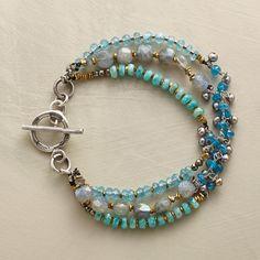 RHYTHM bracelet on Sundance Jewelry catalog new arrivals designed by Nicole Ardis jewelry.