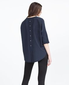 Image 5 of FRENCH SLEEVE T-SHIRT from Zara
