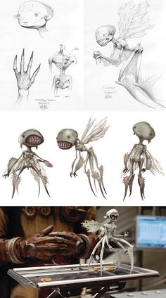 Galería de monstruos de Hellboy 2 | Invasores Espaciales