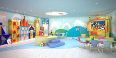 it's a small world nursery on the Disney Dream