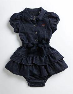 Kids' | Infant Girls | Infant Girls Knit Denim Dress | Hudson's Bay