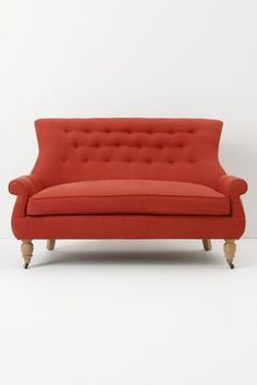 astrid settee / anthropologie