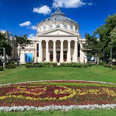 The Romanian Athenaeum in Bucharest was opened in Free Man In Paris, National Stadium, Beste Hotels, Urban Fabric, Space And Astronomy, Urban Life, Urban Planning, Natural Wonders, Arquitetura