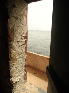 "House of Slaves - the ""Door of No Return"", once the slaves stepped through this doorway they never came back. Goree Island, Dakar, Senegal. Photo taken by B. Wittig, June 8, 2013"