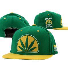 DGK Haters Snapback Hats Caps Green 0255