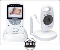 """Audioline V 120 - Vigilabebé (2x, 150m, Digital, 2,4 GHz, Gris, Color blanco, 5,08 cm (2""""))  ✿ Vigilabebés - Seguridad ✿ ▬► Ver oferta: http://comprar.io/goto/B00BPHRTY2"""