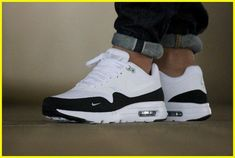 sports shoes c5f7c 04dcb Adidas Women Shoes - Nike Air Max 1 Ultra Essential Mini Swoosh - We reveal  the news in sneakers for spring summer 2017