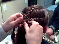 Triple Braid Combo into Messy Bun | Cute Girls Hairstyles - YouTube
