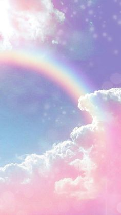 Aesthetic Wallpaper Pastel Clouds Ideas For 2019 Wallpaper Pastel, Glitter Wallpaper Iphone, Cute Galaxy Wallpaper, Cloud Wallpaper, Rainbow Wallpaper, Butterfly Wallpaper, Aesthetic Pastel Wallpaper, Scenery Wallpaper, Cute Wallpaper Backgrounds