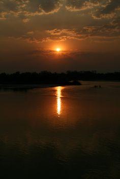 Sunset in Kasane, North-West_ Botswana