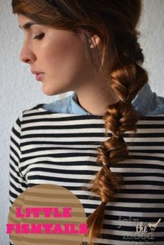Little Fishtails Hairstyle