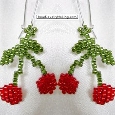 * Cherry Earring
