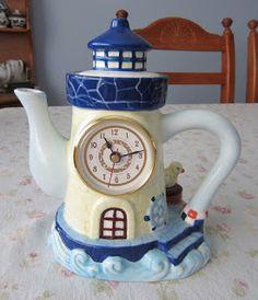 Lighthouse Tea Pot