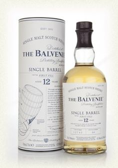 Balvenie 12 Year Old Single Barrel - First Fill (Rather nice - pale, and a bit different)