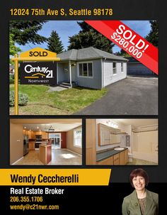 #SOLD SOLD SOLD  Congrats to Wendy Ceccherelli & to the new owners of this home w open layout, large bathroom + lots of kitchen upgrades, including maple cabinets, granite counters and ss appliances.   MLS # 1120499