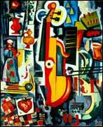 """""""Luxúria do Violino""""de Amadeu Sousa Cardoso Escolhido para simbolizar a Alegria que procuro manter."""