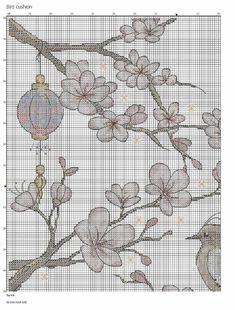 ru / Photo # 1 - a - Cross Stitch Fruit, Cross Stitch Flowers, Cross Stitch Designs, Cross Stitch Patterns, Embroidery Patterns, Hand Embroidery, Art Inspiration Drawing, Easter Cross, Bird Design
