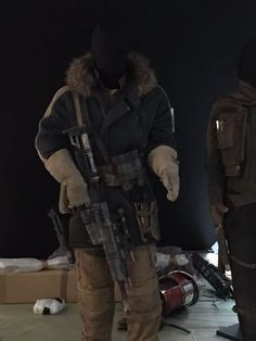 Rogue One costumes.