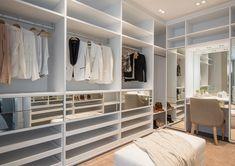 Best Unbelievable Dream Closet Designs for Organized Home Ikea Closet Hack, Closet Hacks, Master Closet Design, Master Bedroom Closet, Small Space Interior Design, Interior Design Living Room, Closets Pequenos, Small Cupboard, Closet Layout