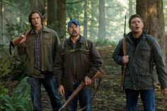 "Bobby: ""Damn thing's eating Rick.""  Dean: ""Damn, I liked Rick.""  (Supernatural)"